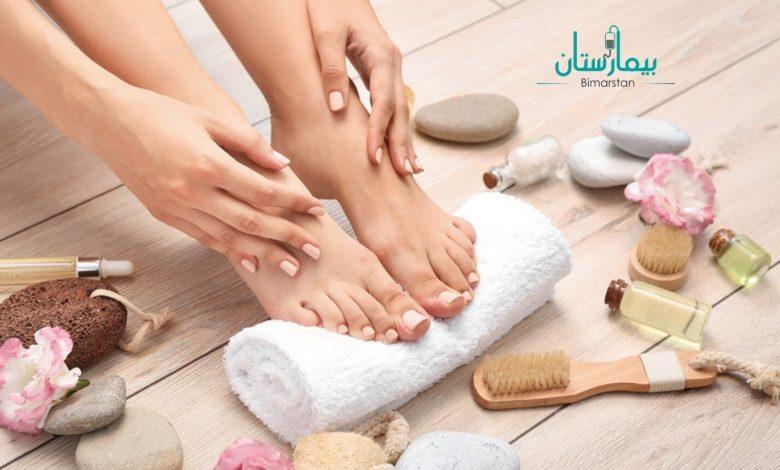 تشقق القدمين   نصائح للتمتع بأقدام ناعمة كالحرير