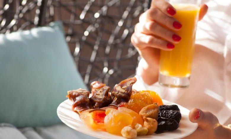 حلويات صحية في رمضان
