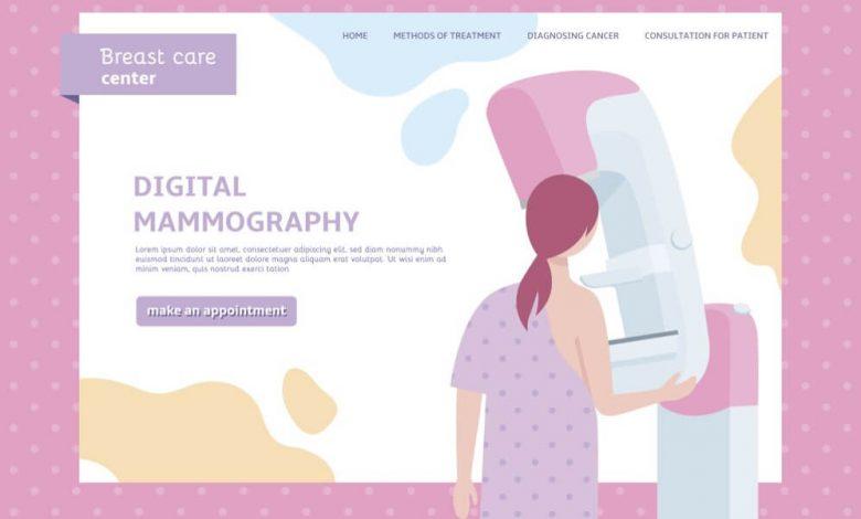 التصوير الشعاعي للثدي